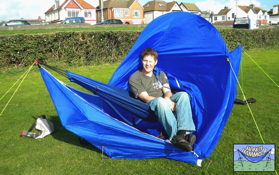 Handy Hammock Tent: Hamaca y carpa integrada